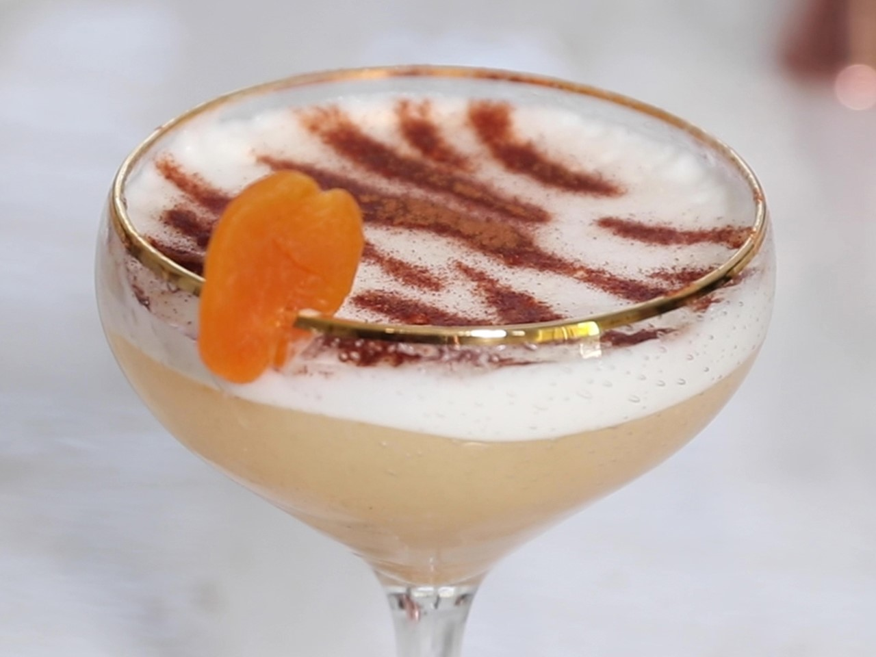 wd - Spiced *Exotic* Apricot Bourbon Sour Image