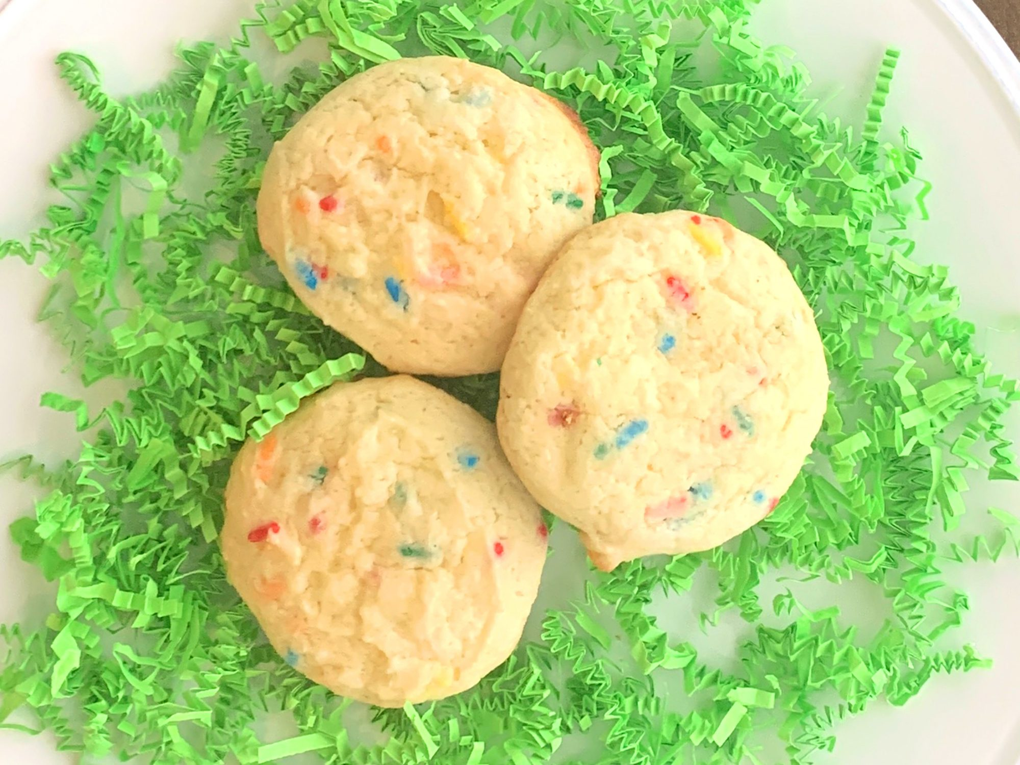 3 Ingredient Easter Cookies