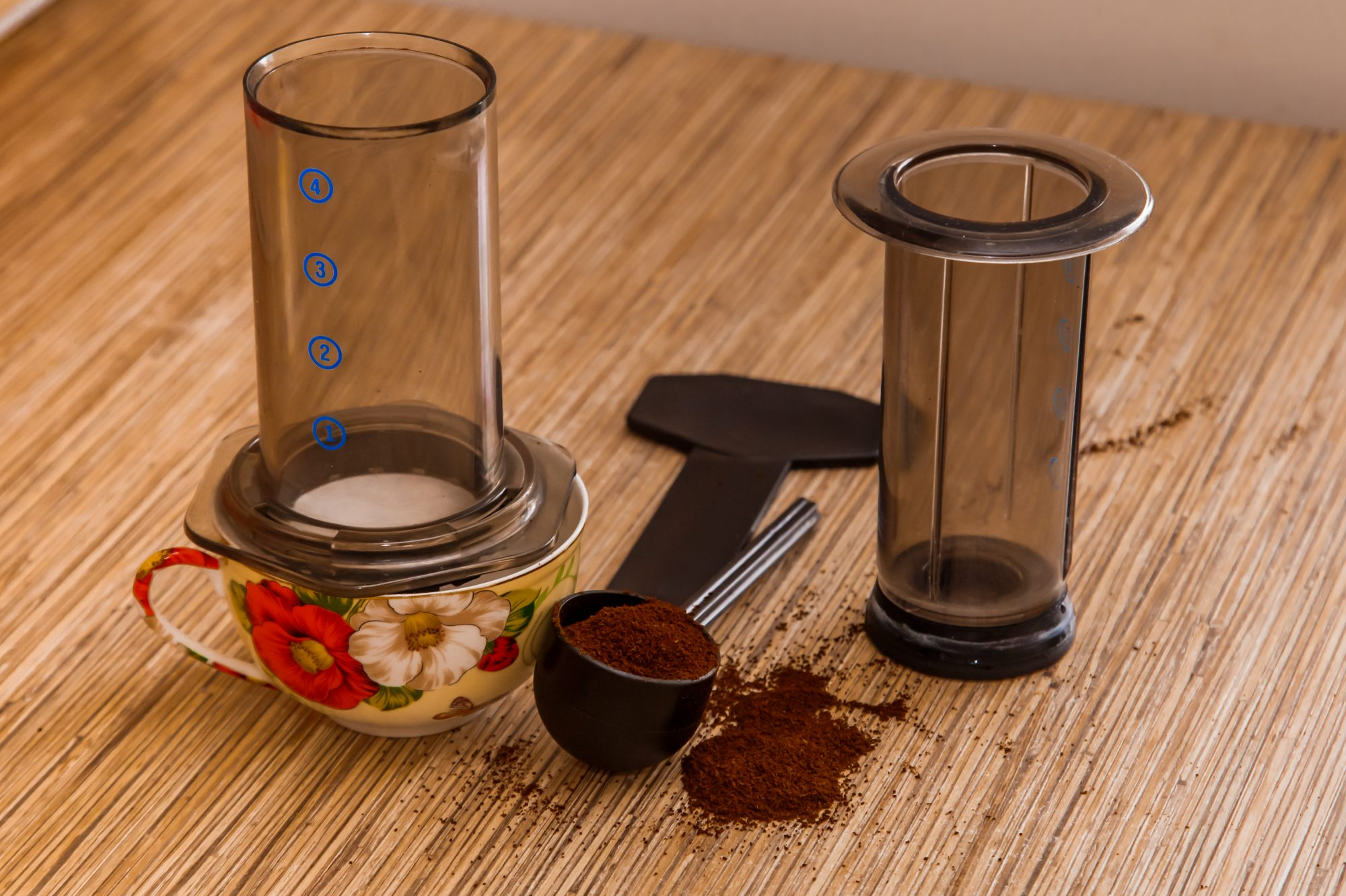 Image: AeroPress coffee maker