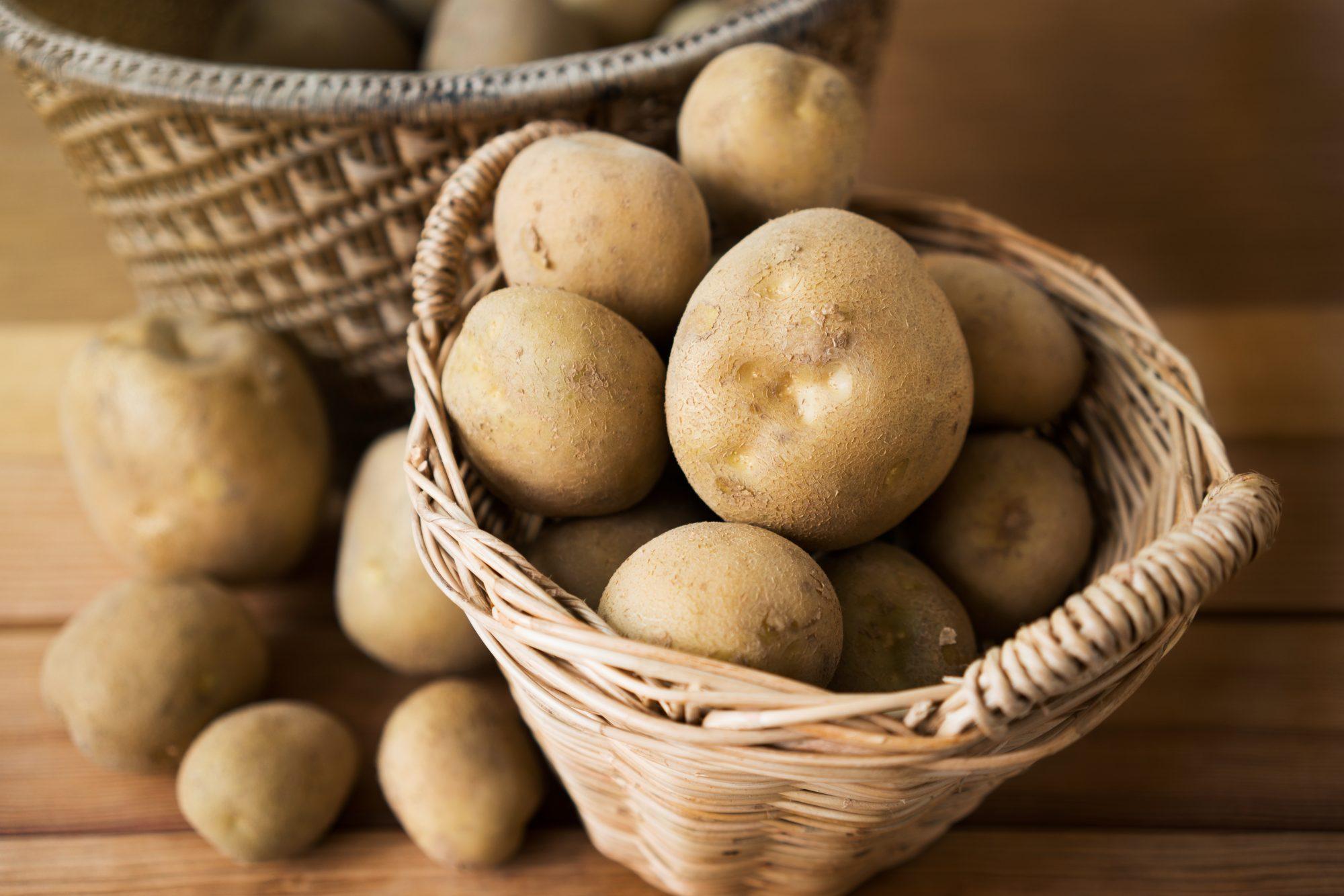 Potatoes in basket Getty 4/7/20