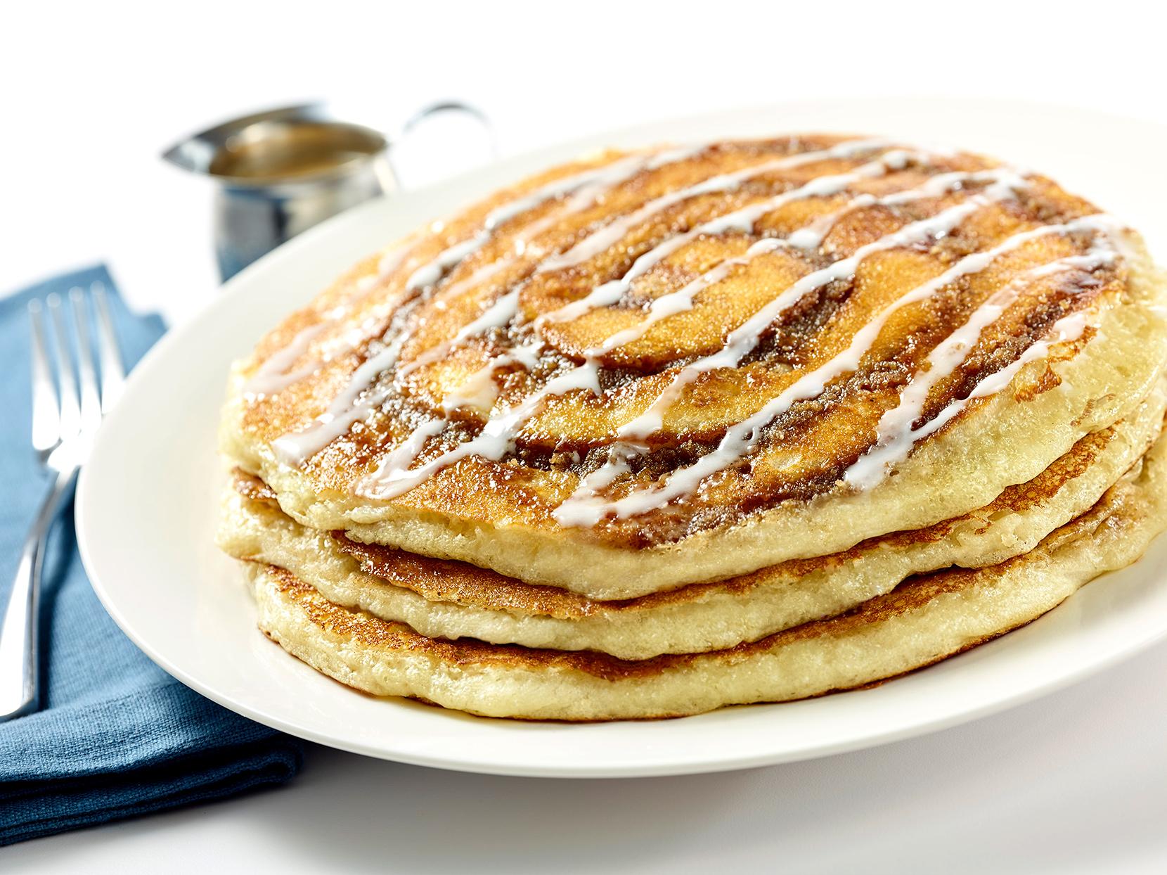 THE CHEESECAKE FACTORY Cinnamon Swirl Pancakes