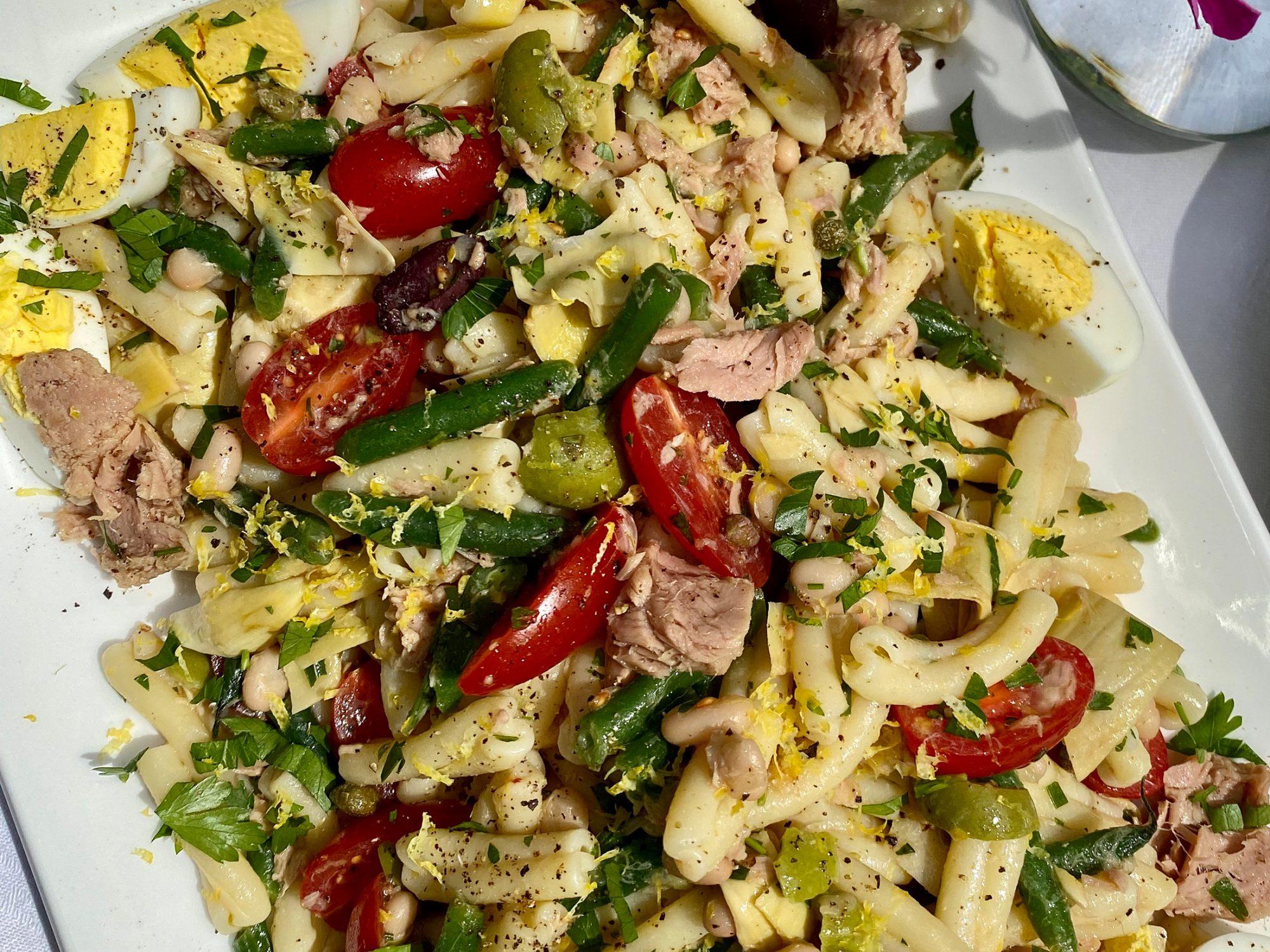 Tuna Nicoise Pasta Salad image