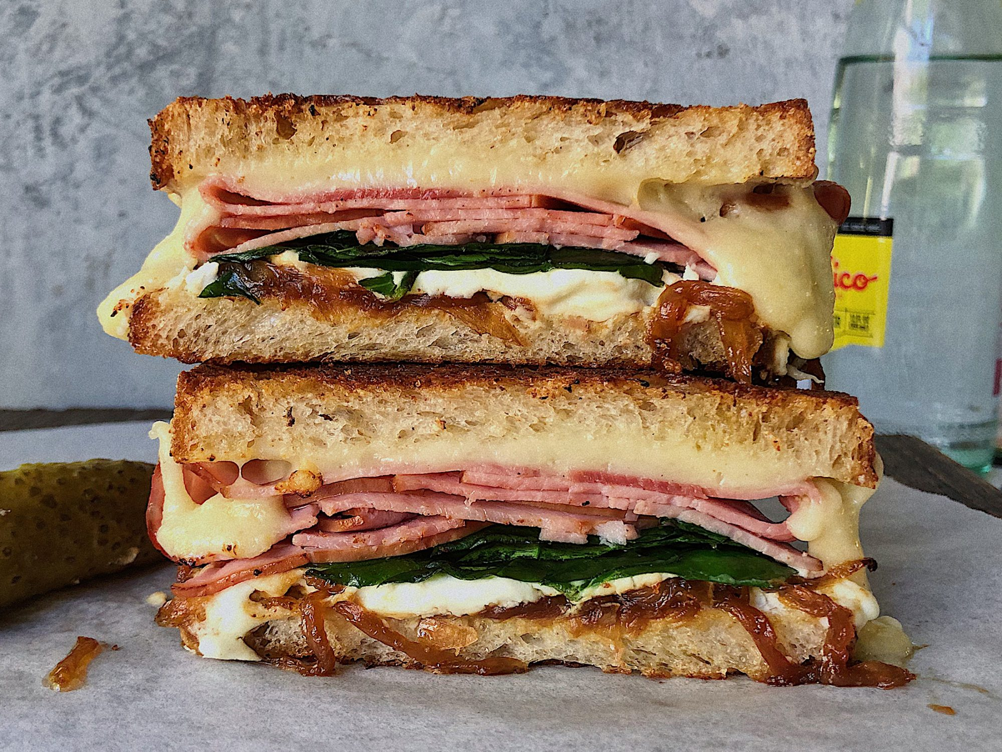 Bougie Grilled Ham & Cheese image