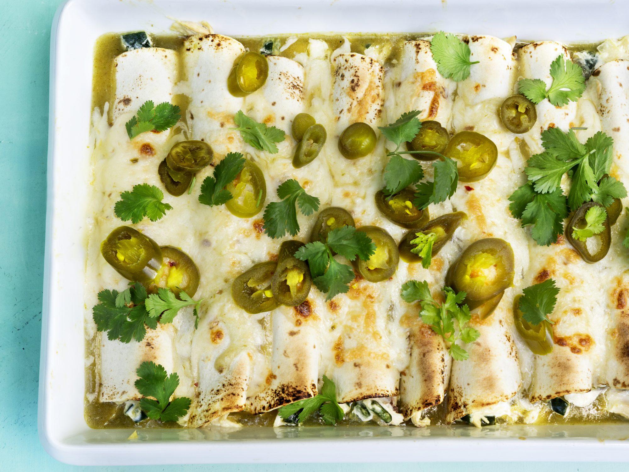 mr-Sour Cream Chicken Enchiladas Image