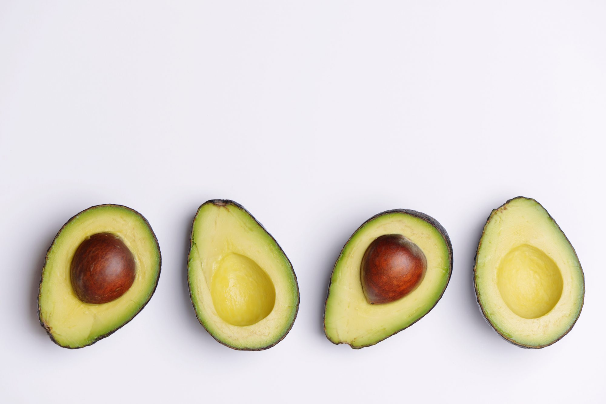 Avocados on white background Getty 4/27/20