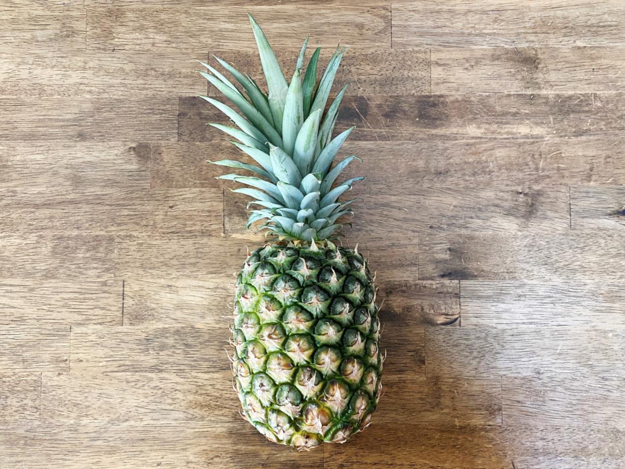 Pineapple step 1