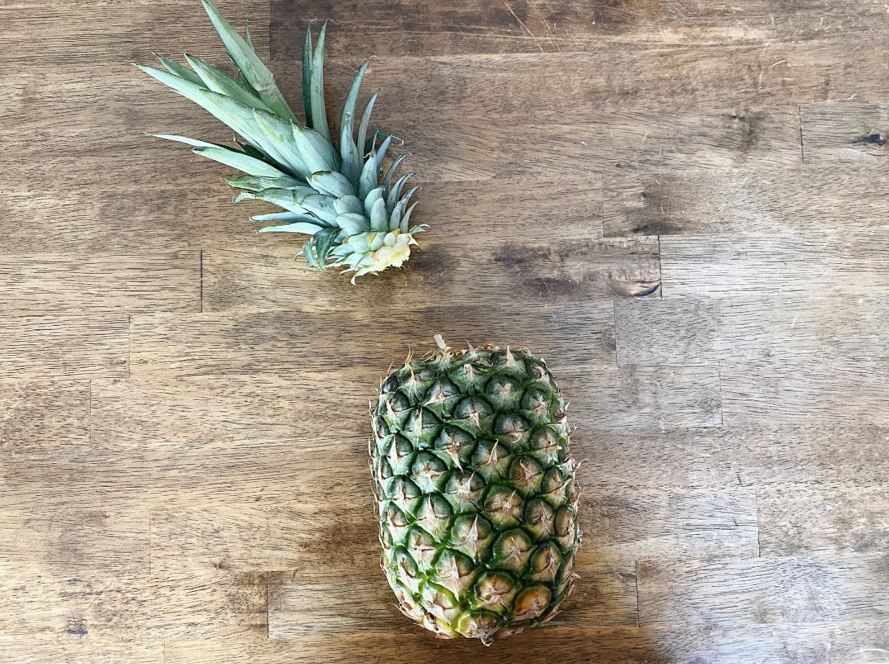 Pineapple step 2
