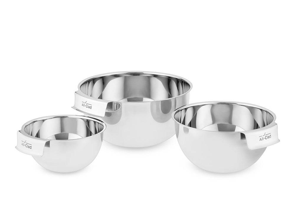 All-Clad Stainless Steel Mixing Bowls