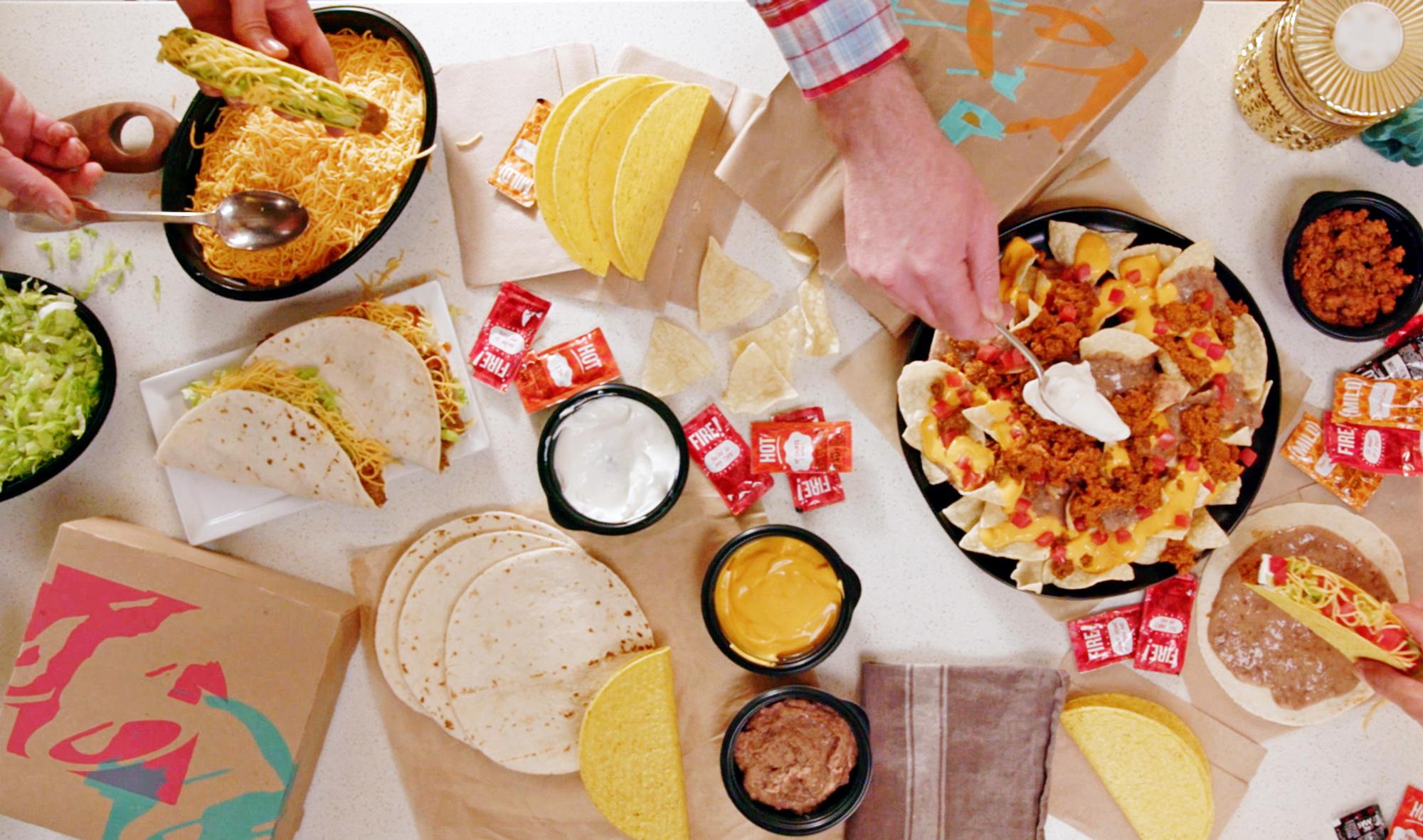 Taco Bell Offers Taco Bar Kits