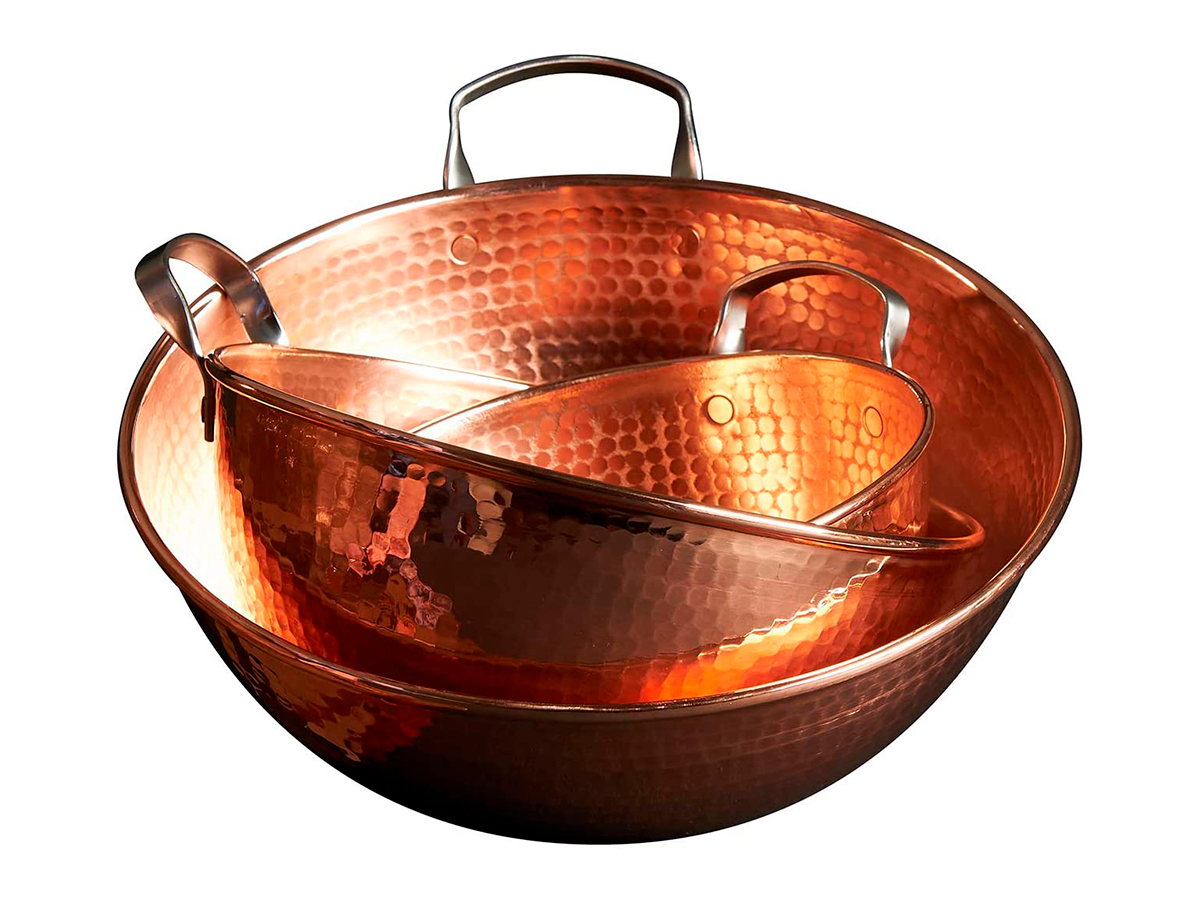 Sertodo Copper Mixing Bowls