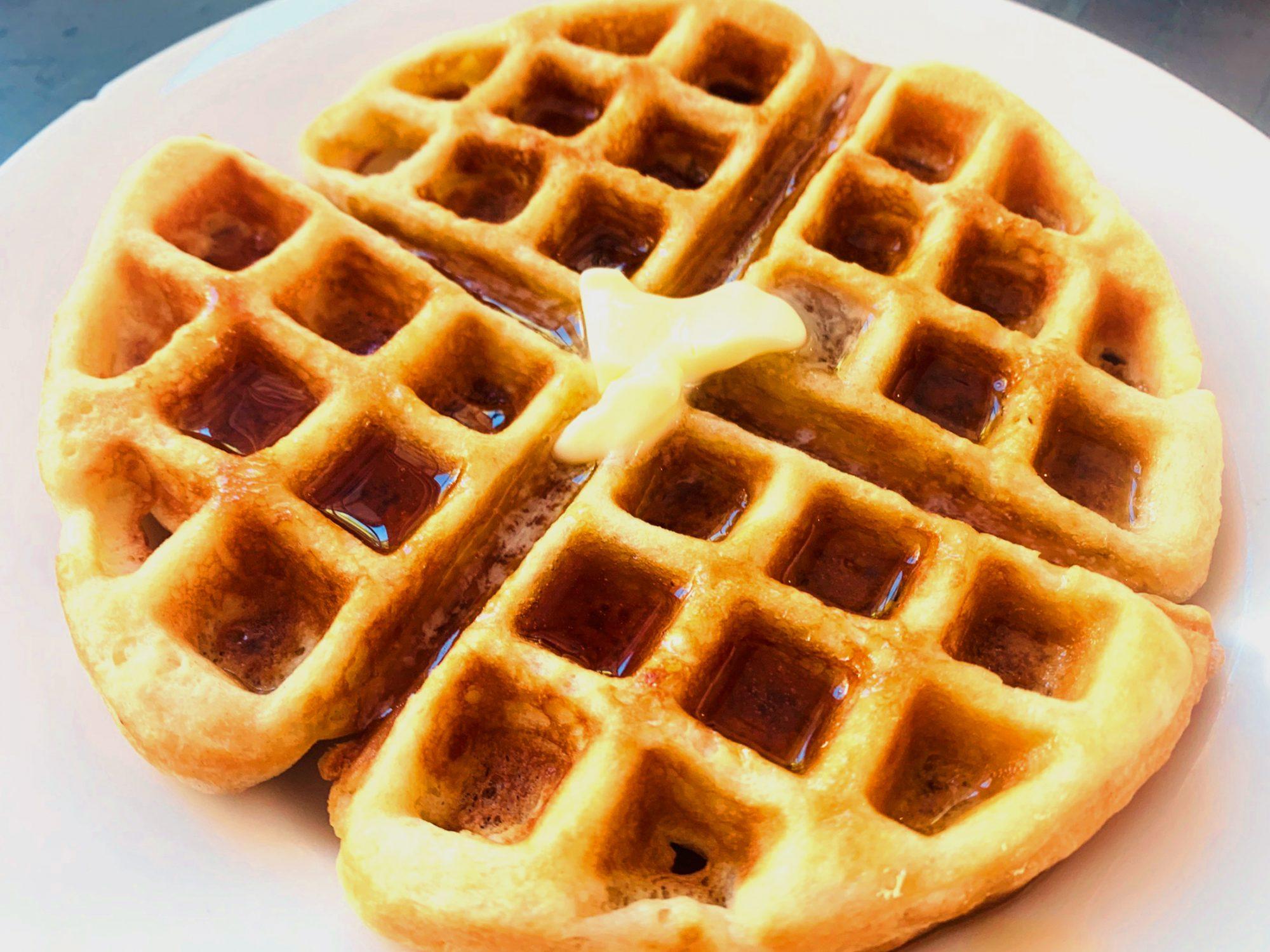 Copycat Waffle House Waffles image