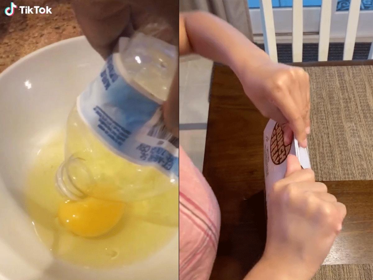 TikTok kitchen hacks