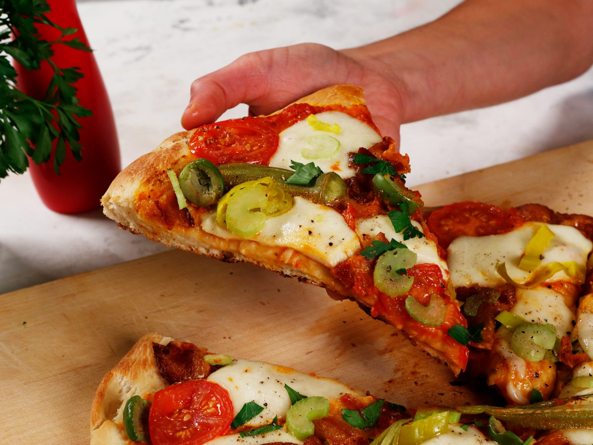 Bloody Mary Pizza image