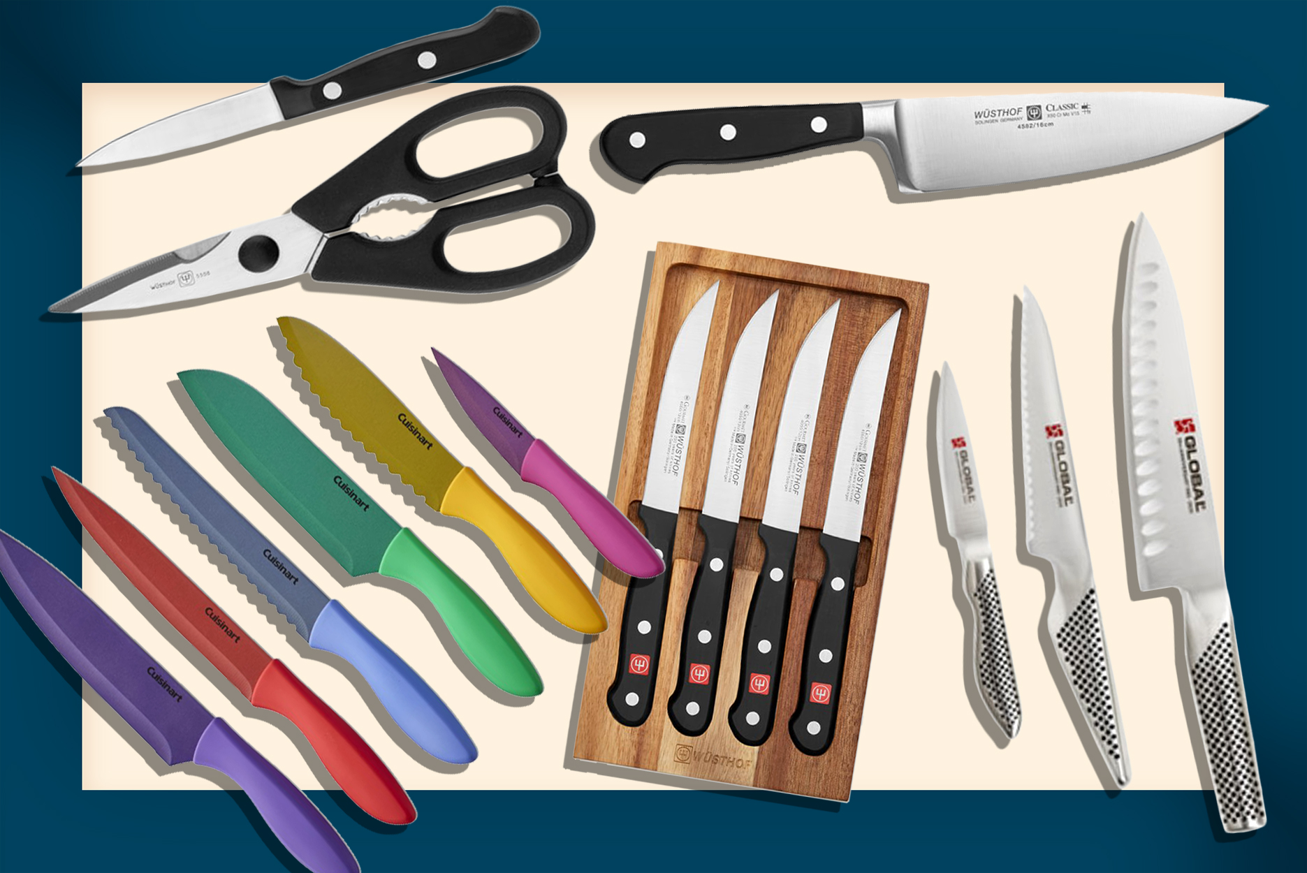 Our Favorite Knife Brands at Williams Sonoma Right Now