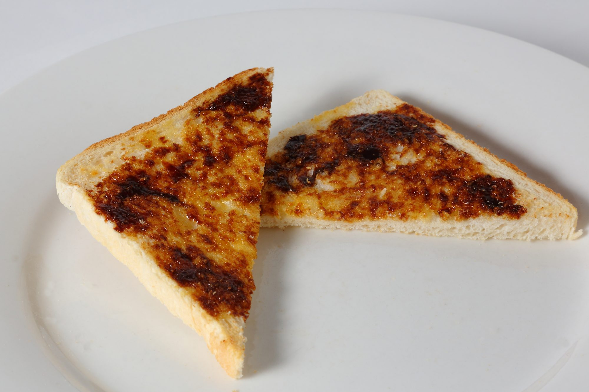 Vegemite on cut toast Getty 6/8/20