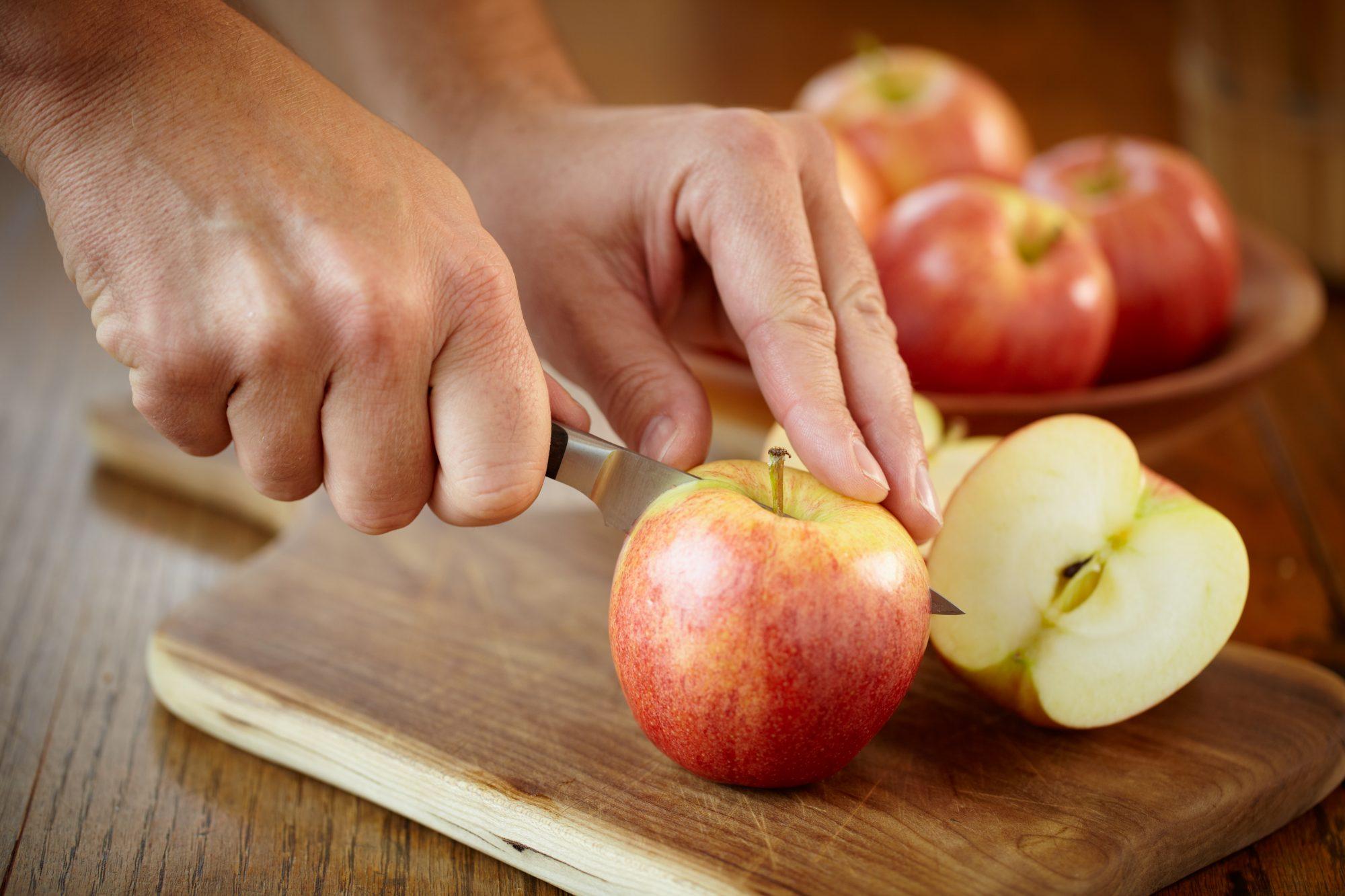 Cutting apples Getty 6/12/20