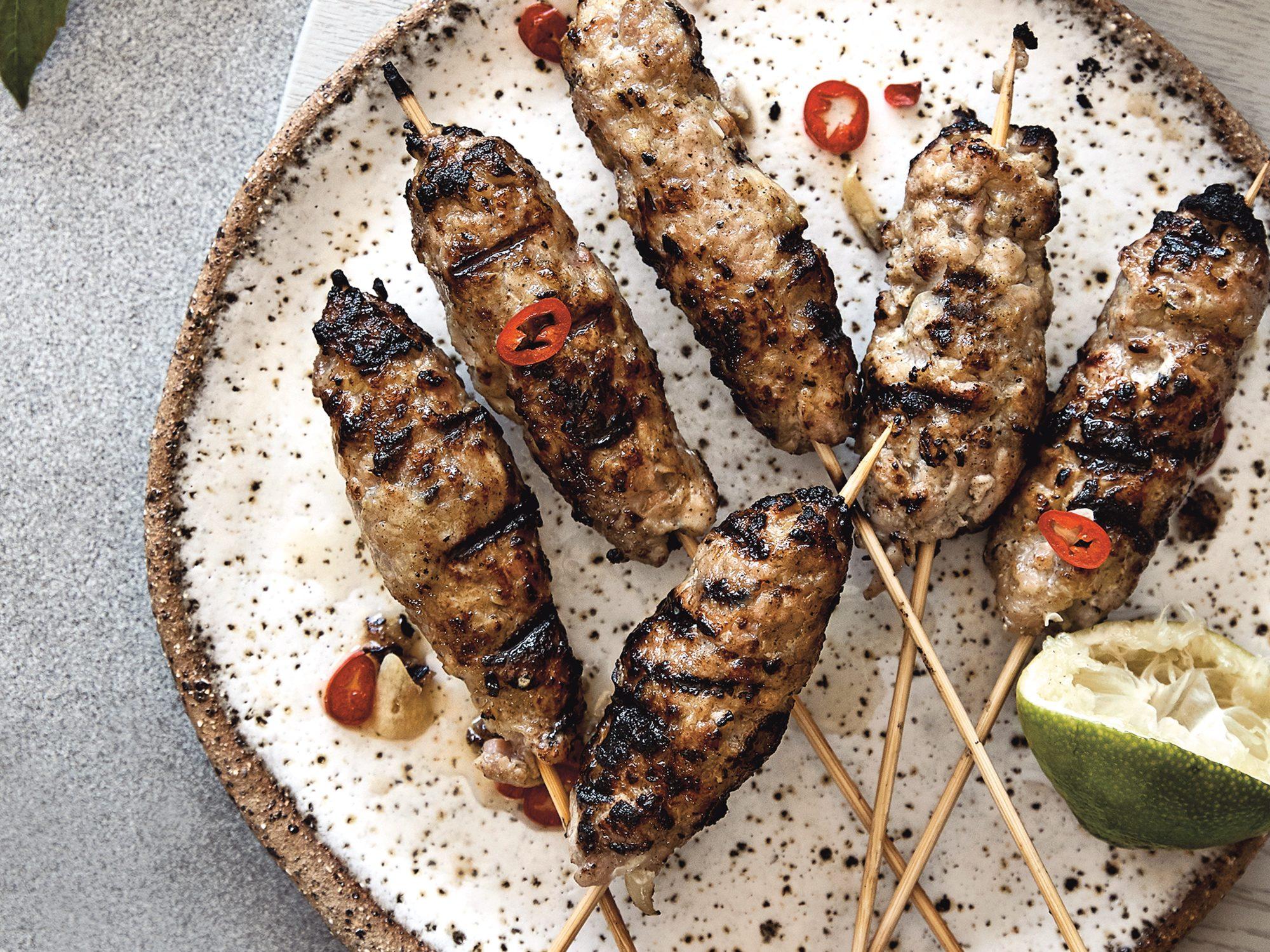 mr-Vietnamese Grilled Pork Skewers Image