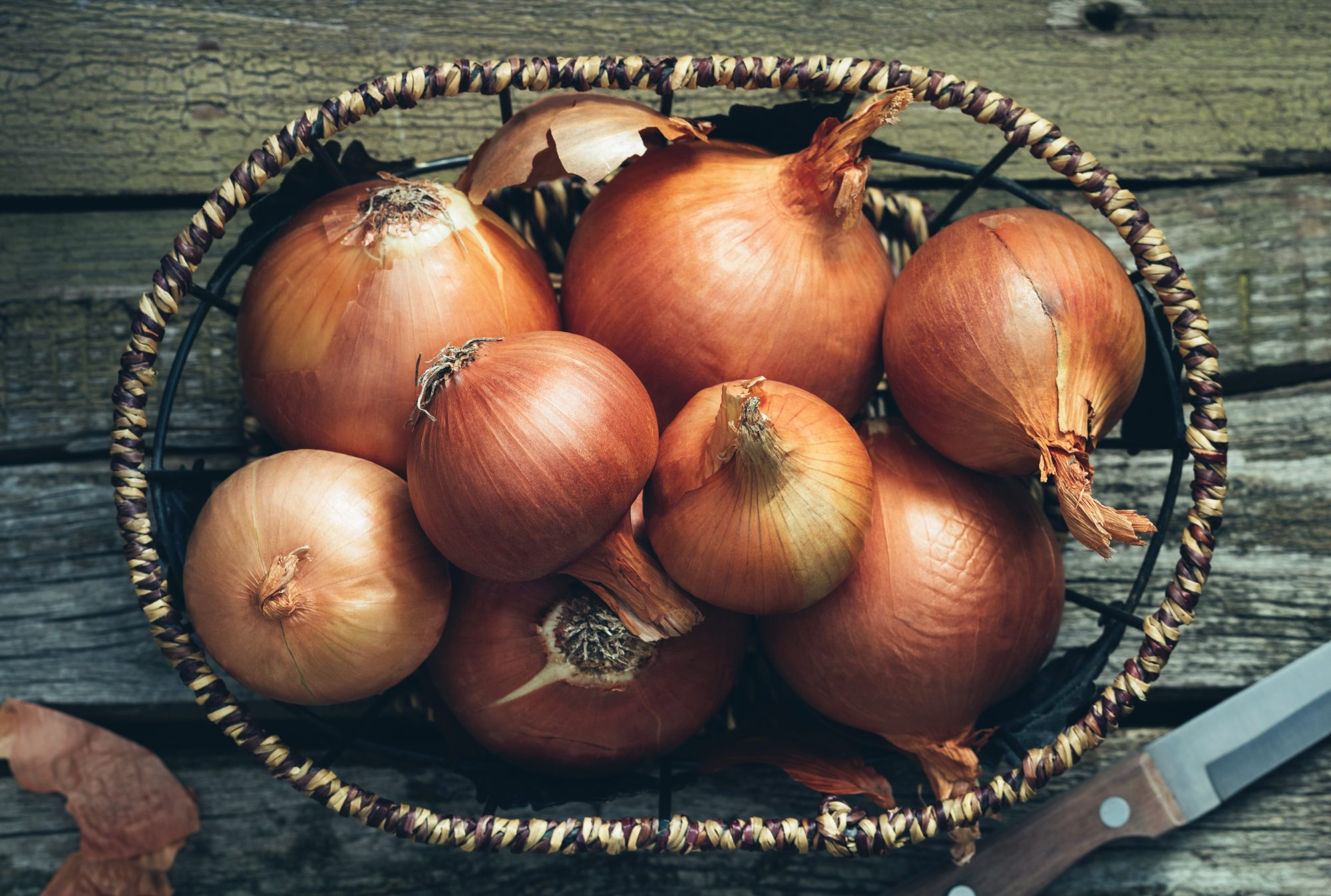 Onions in basket Getty 6/15/20
