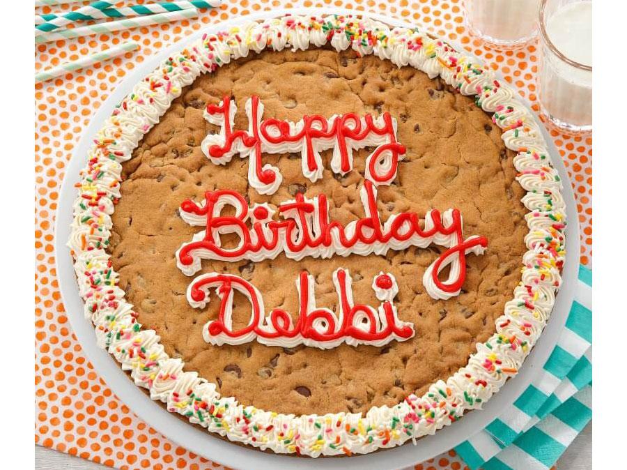Birthday Cake Delivery: Mrs. Fields