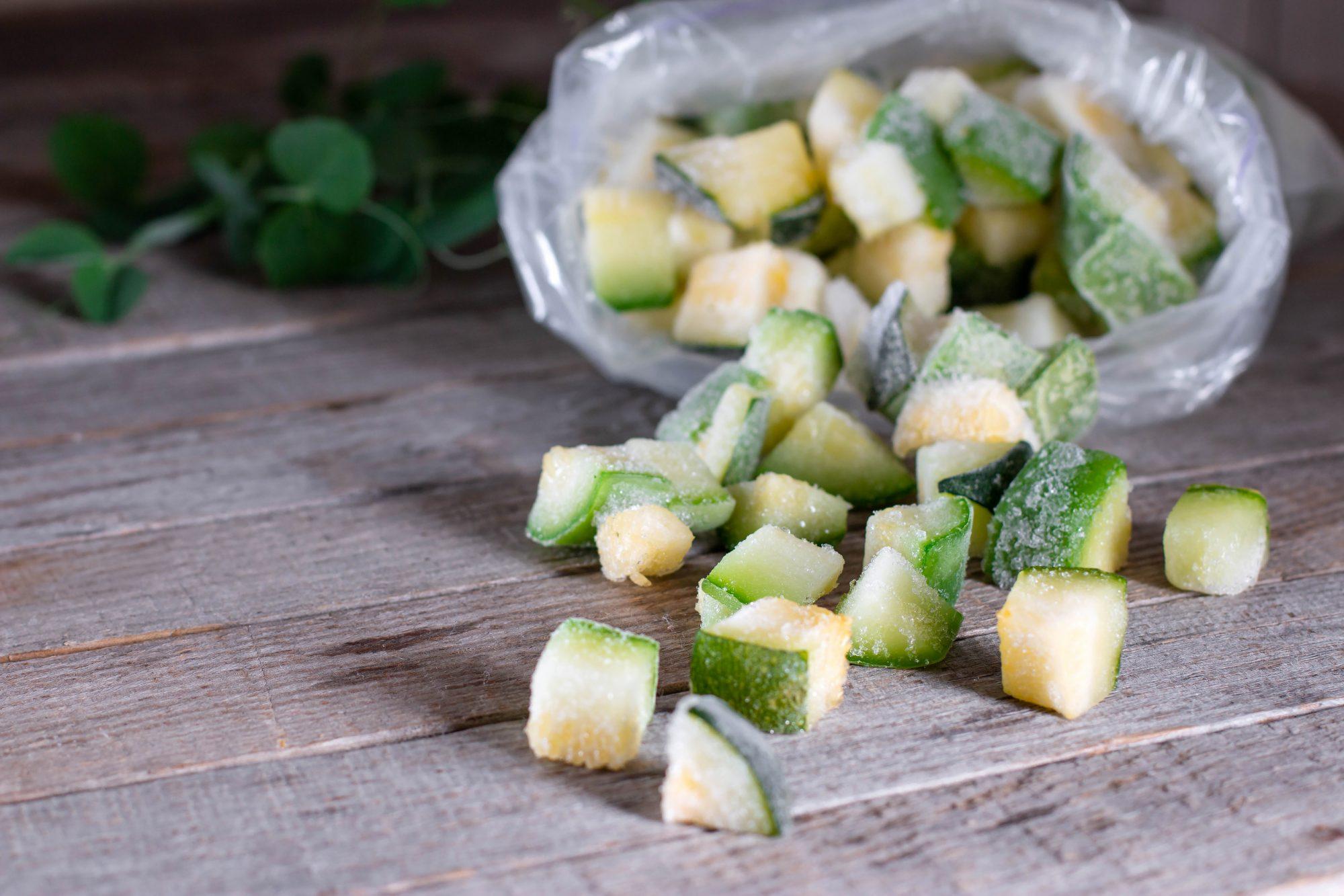 Frozen zucchini Getty 6/22/20
