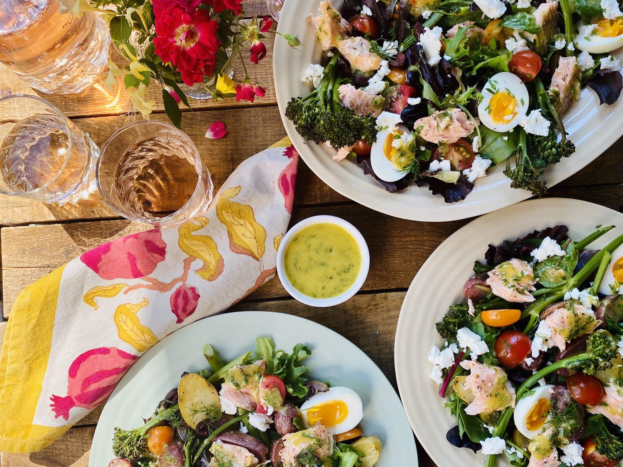 Sheet Pan Niçoise Salad
