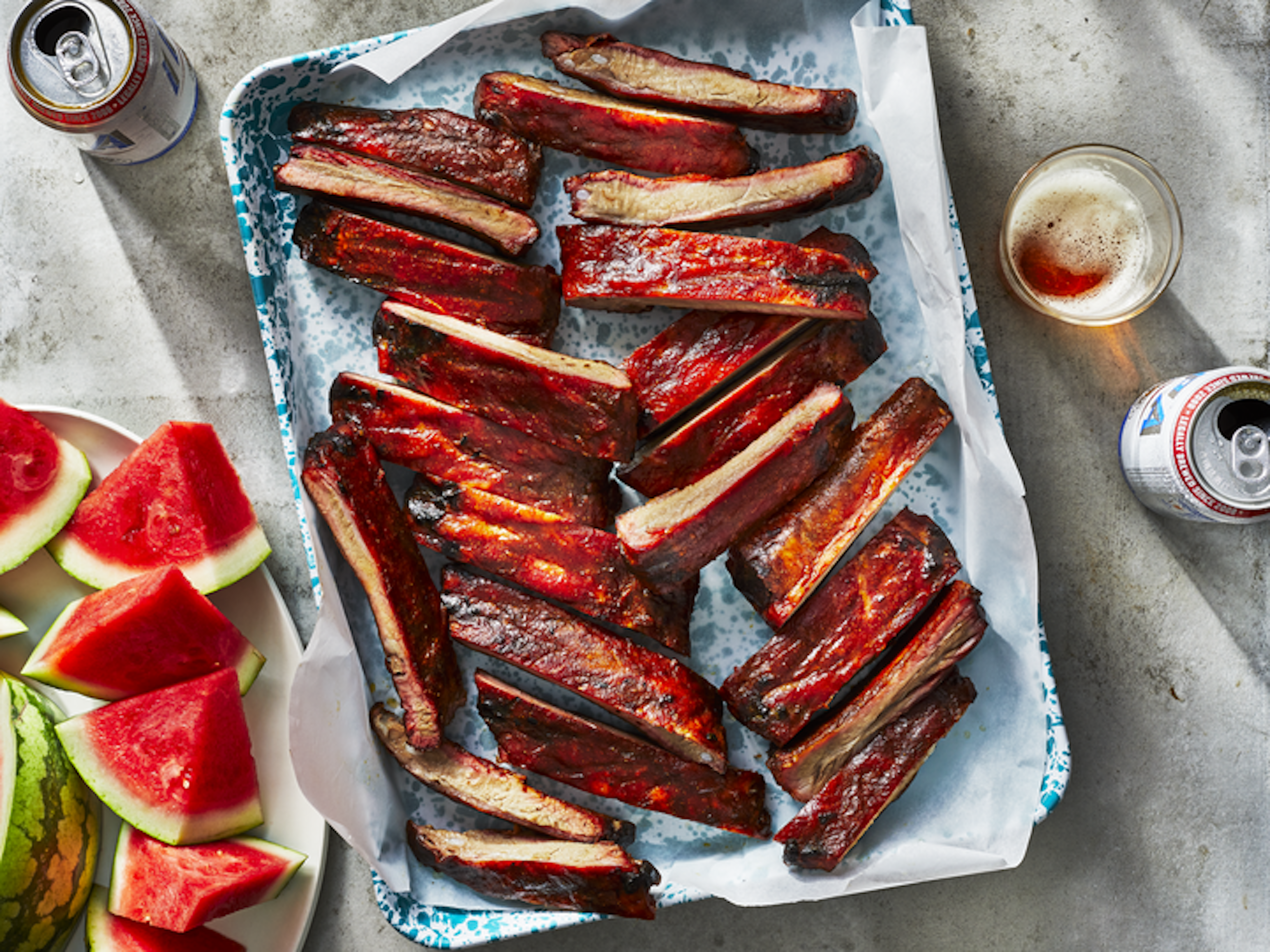 mr - Pellet Grill Smoked Pork Ribs Image
