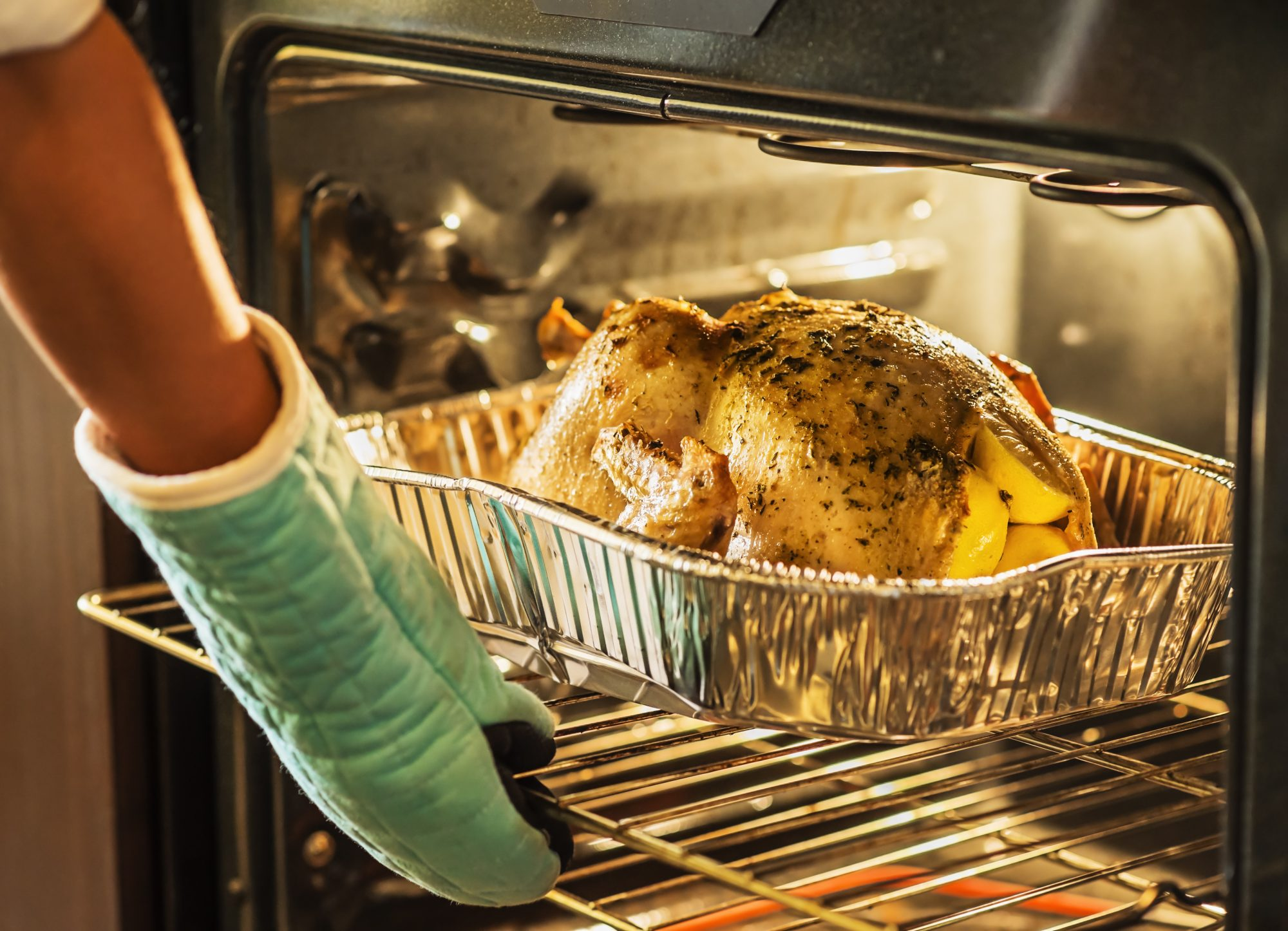 turkey in oven getty 7/20/20