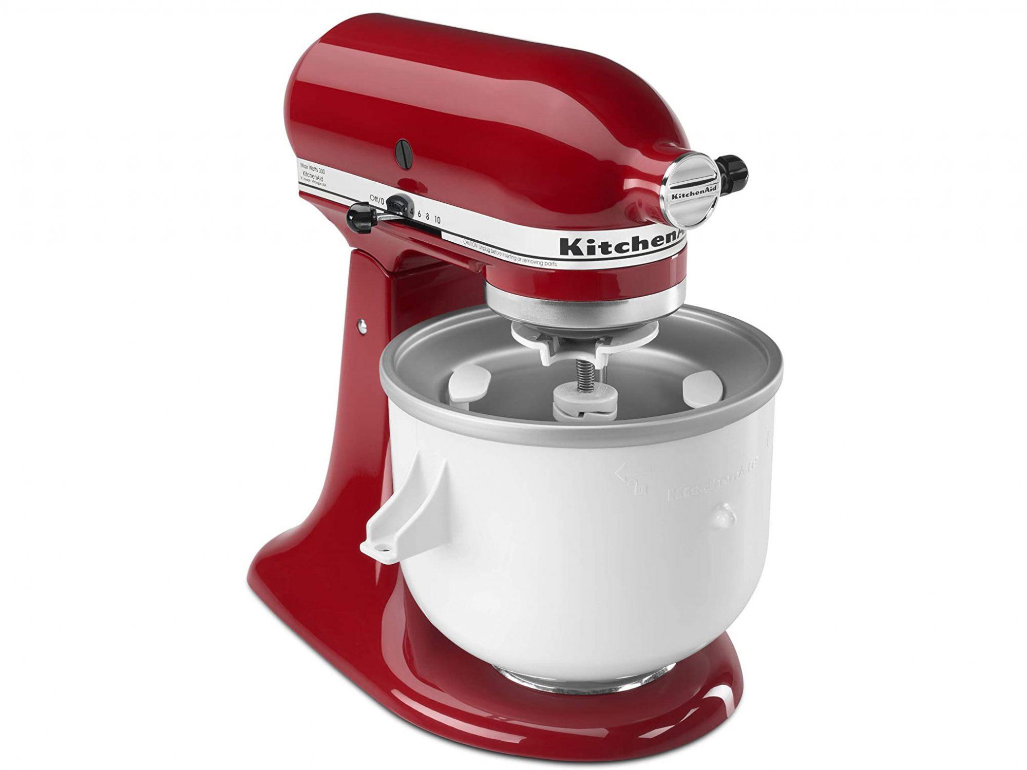 Ways to Use Ice Cream Maker: KitchenAid KICA0WH 2 Quart Ice Cream Maker Stand Mixer Attachment