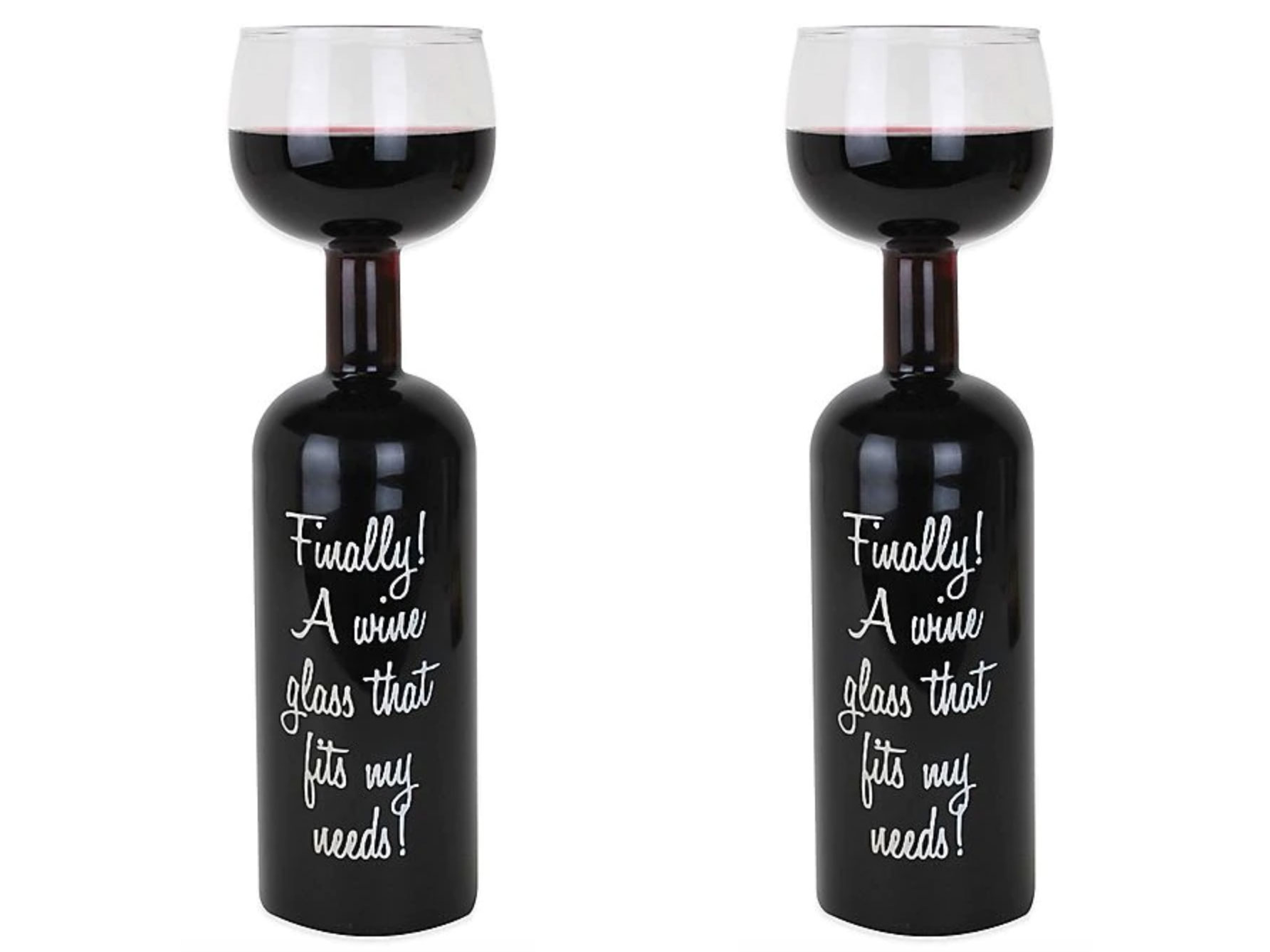 Celebrity Kitchen: Carly Pearce Big Mouth Wine Bottle Glass