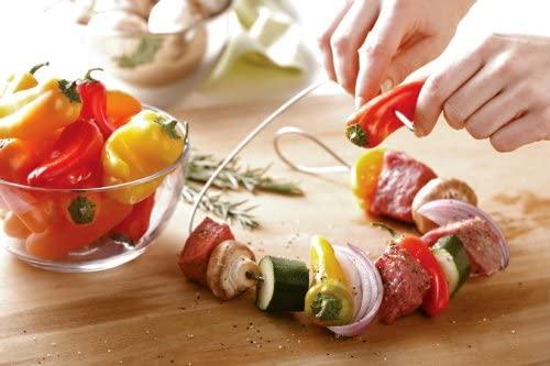 Fire Wire: Flexible Kebab Skewer Prep