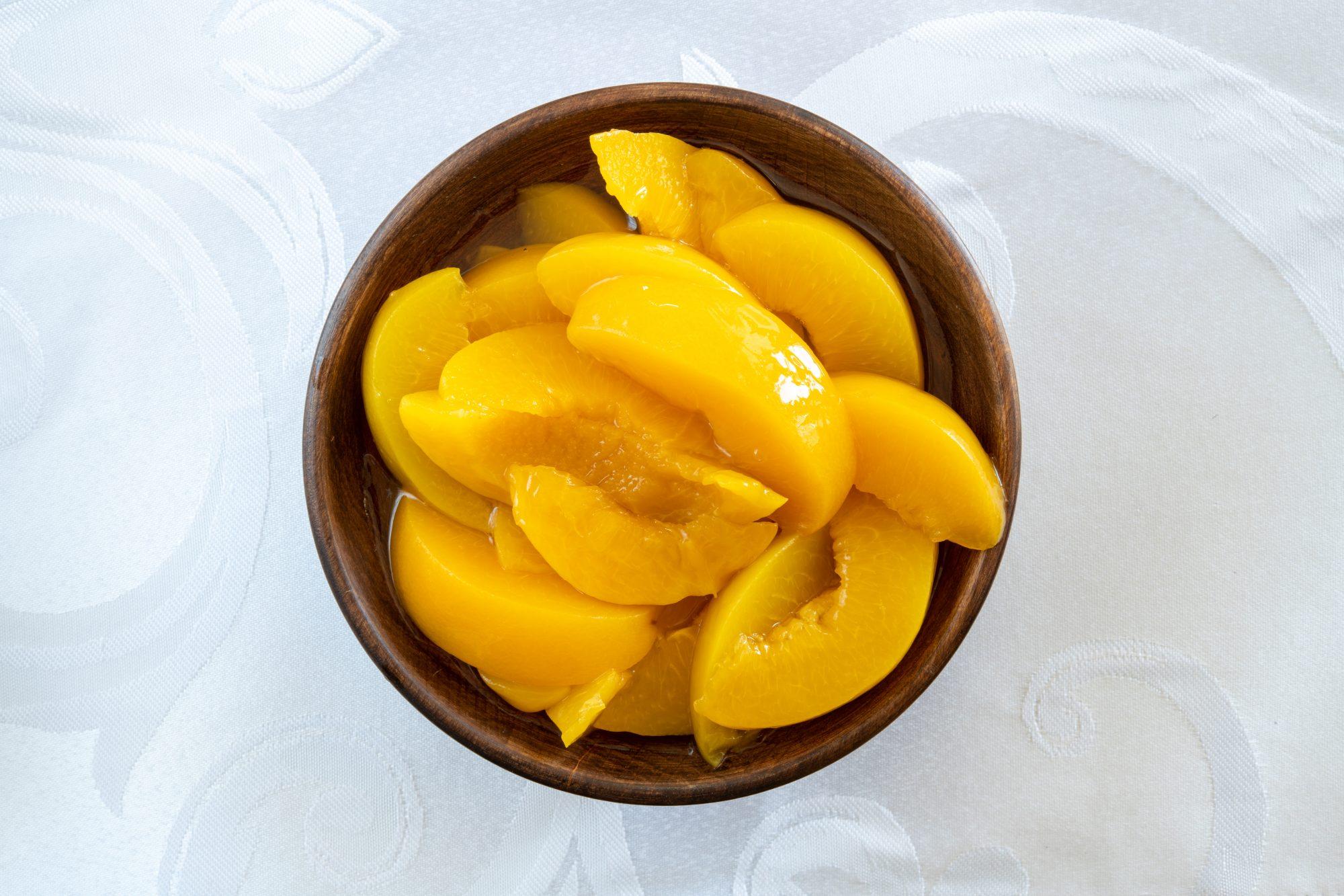 Sliced Peaches Getty 8/5/20