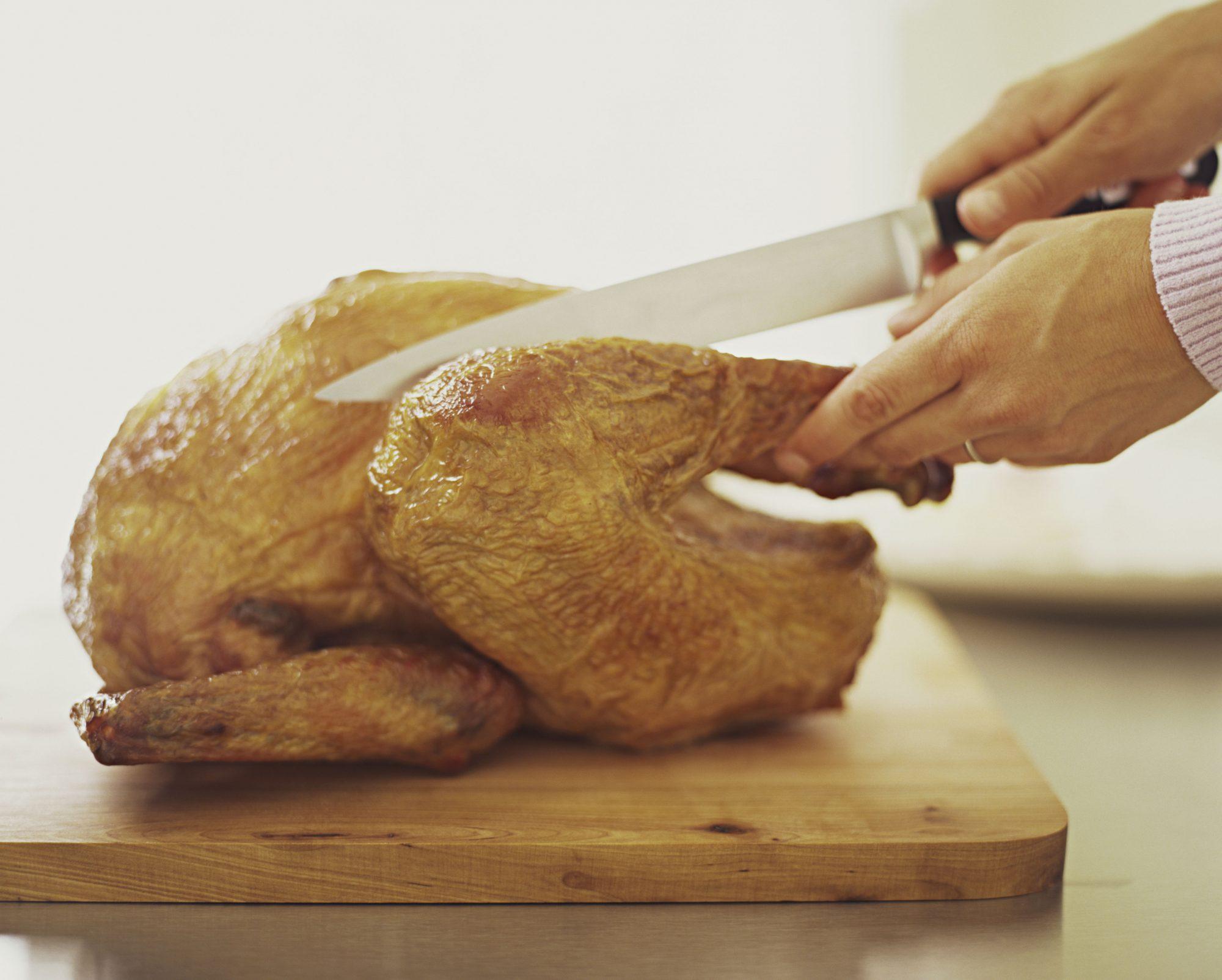 Carving a turkey Getty 8/6/20