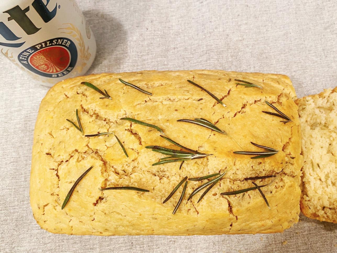 Rosemary-Garlic Beer Bread