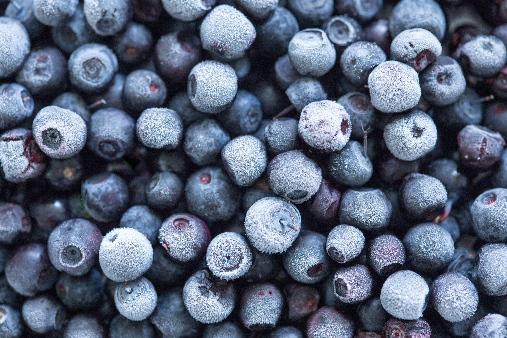 Frozen blueberries Getty 7/16/20