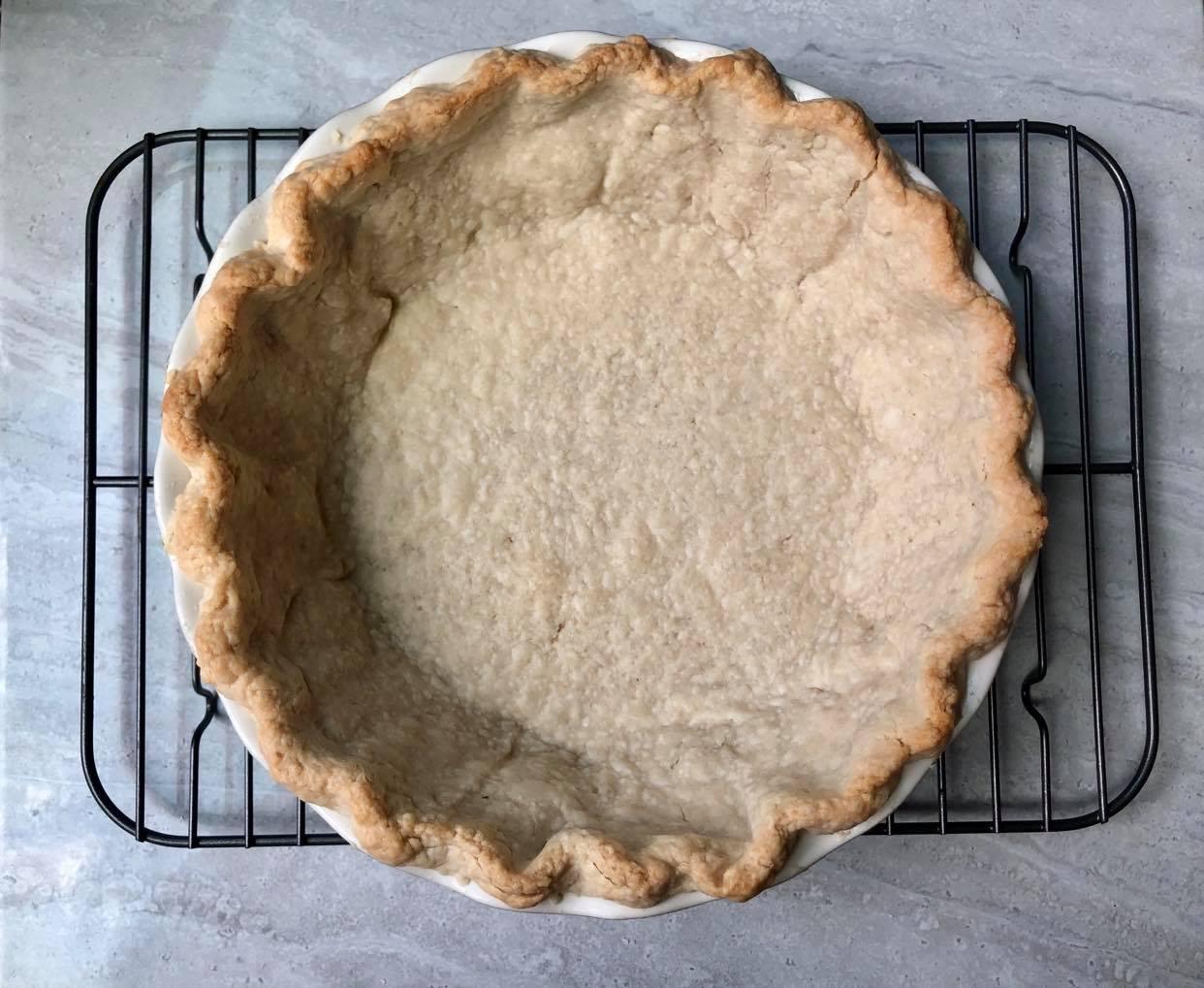 Blind Baking Pie Crust 5