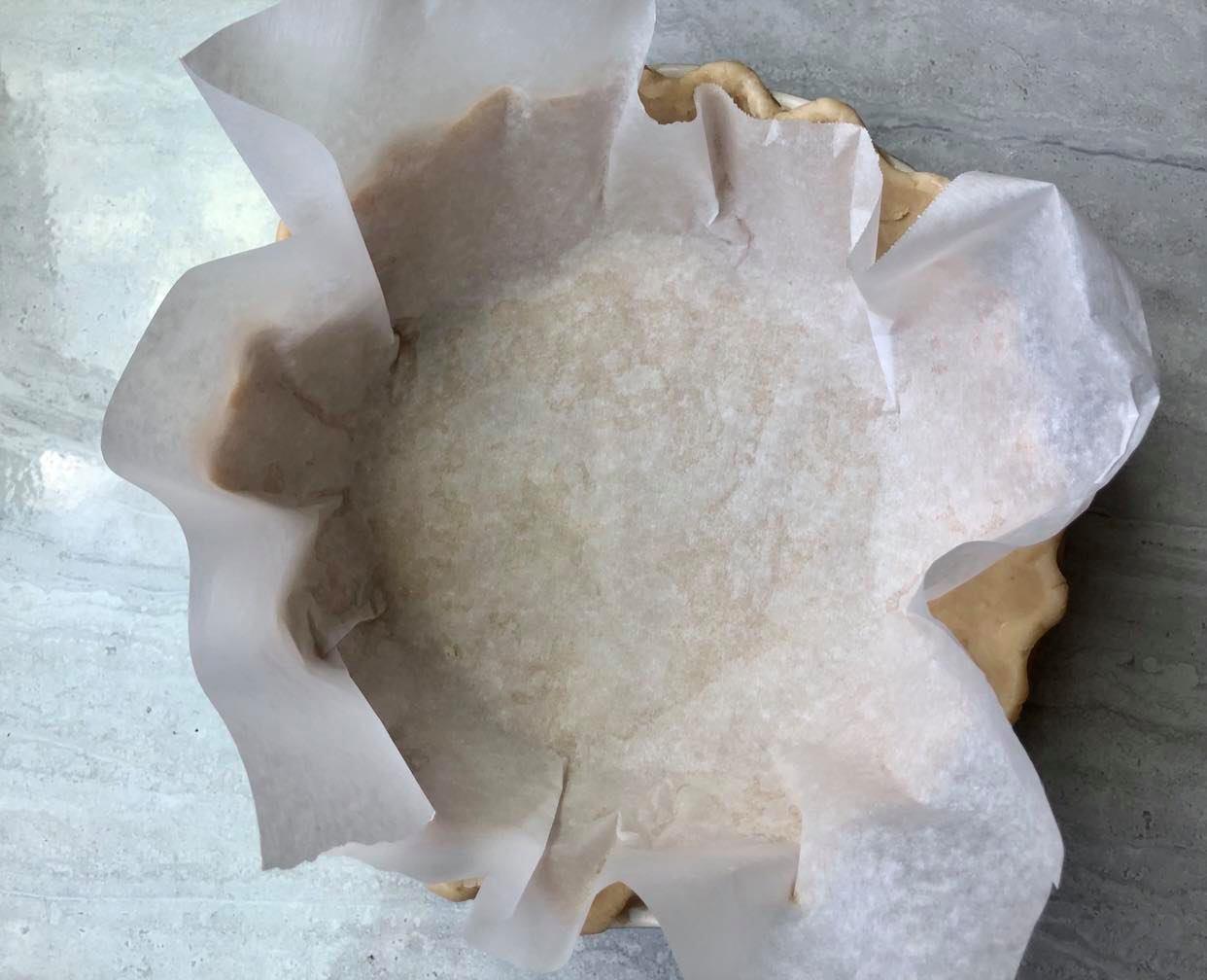 Blind Baking Pie Crust 2