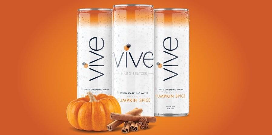 Vive Pumpkin Spice Hard Seltzer