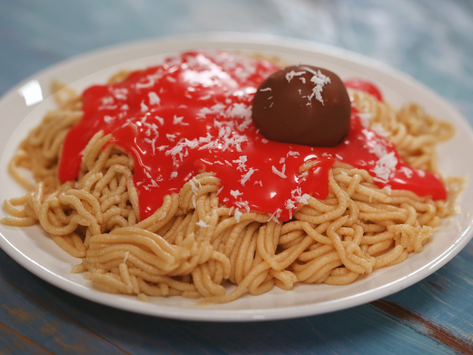 "Cookie Dough ""Spaghetti-and-Meatballs"""