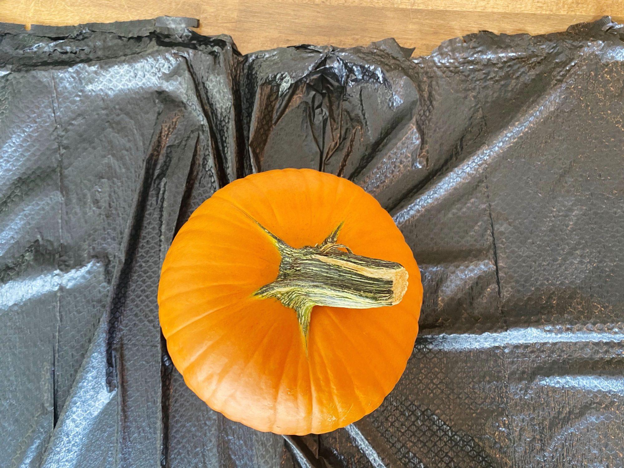 Whole pumpkin