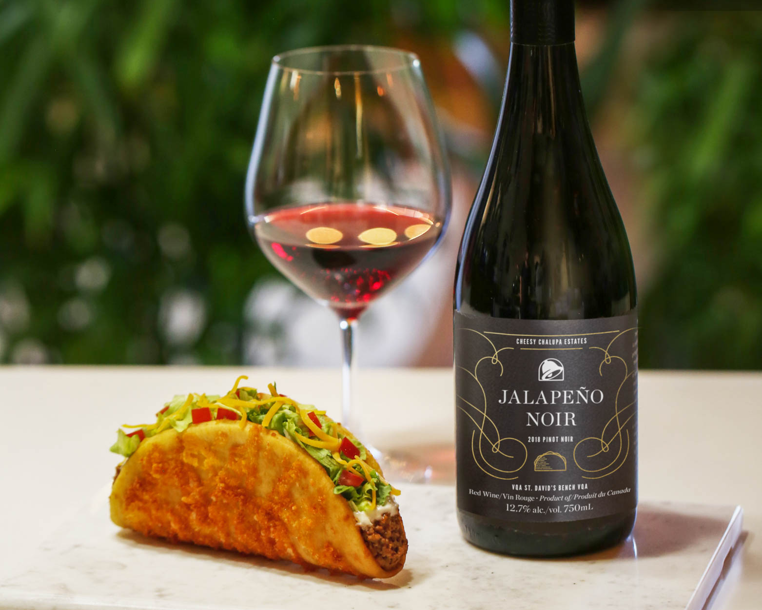 Taco Bell Is Getting Its Own Wine to Pair with Chalupas