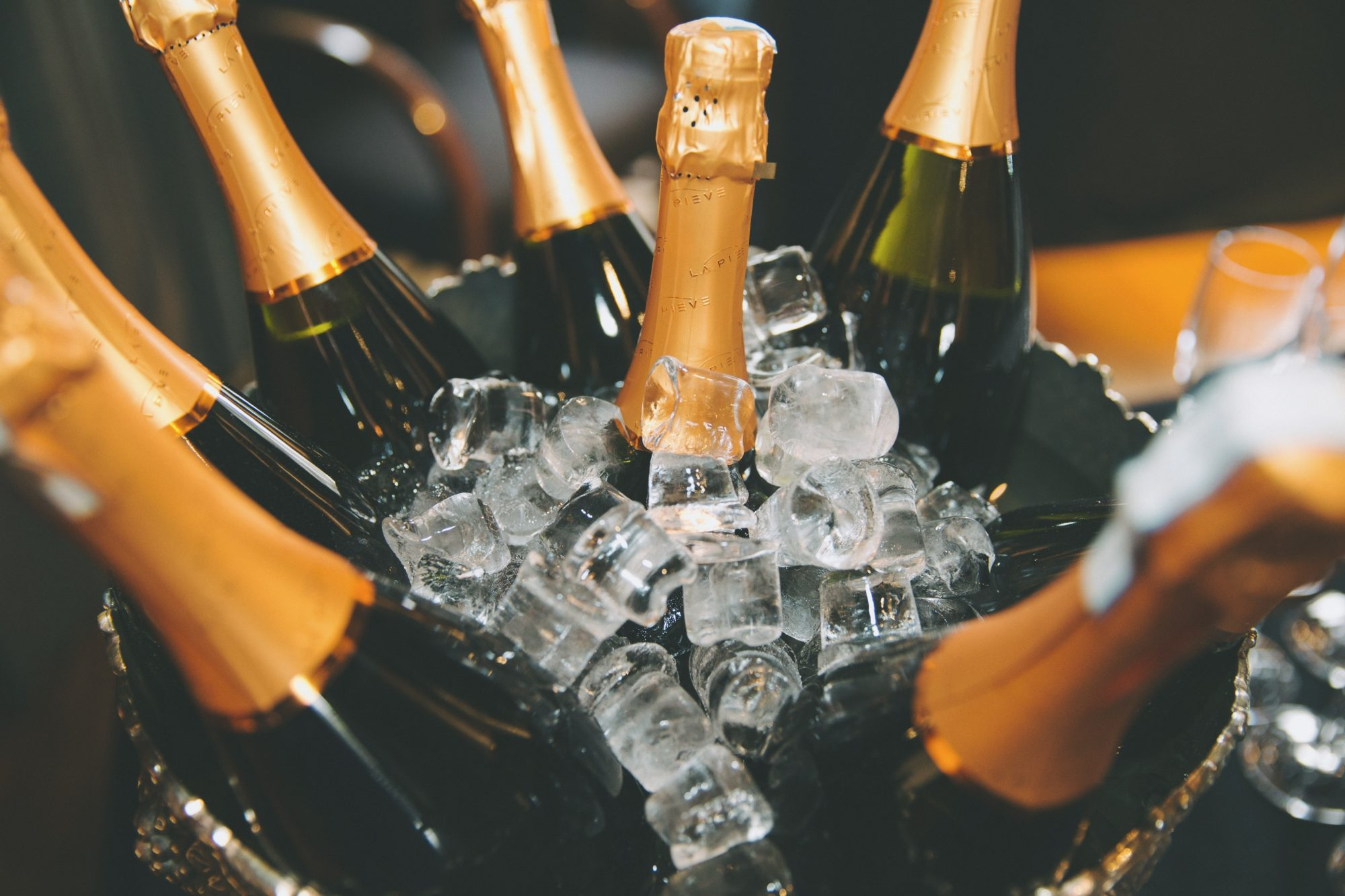 Champagne in ice bucket Getty 9/22/20