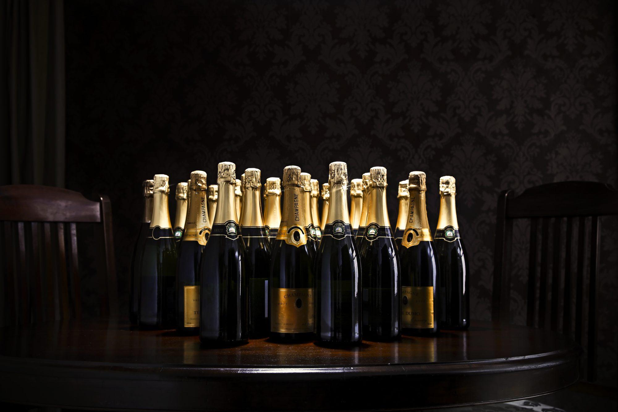 Upright Champagne Getty 9/22/20