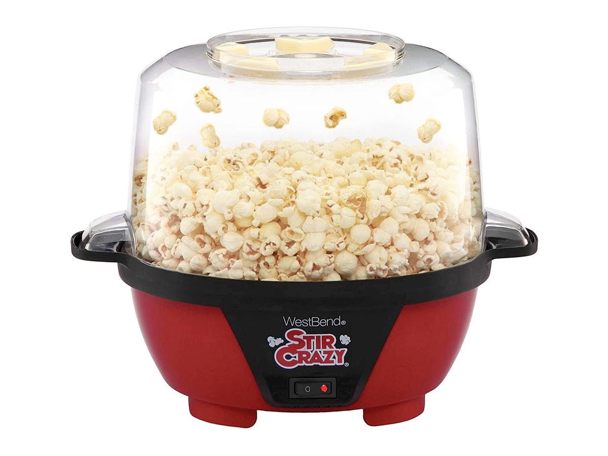 West Bend 82505 Stir Crazy Electric Hot Oil Popcorn Popper Machine