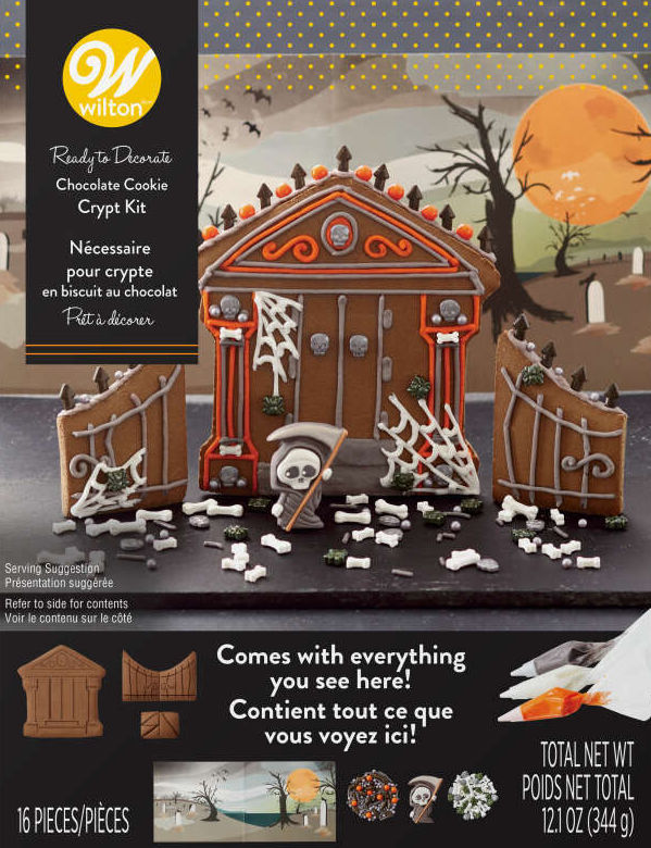 Halloween Cookie Houses Are the New Gingerbread Houses—and You Can Buy Them Right Now -- wilton