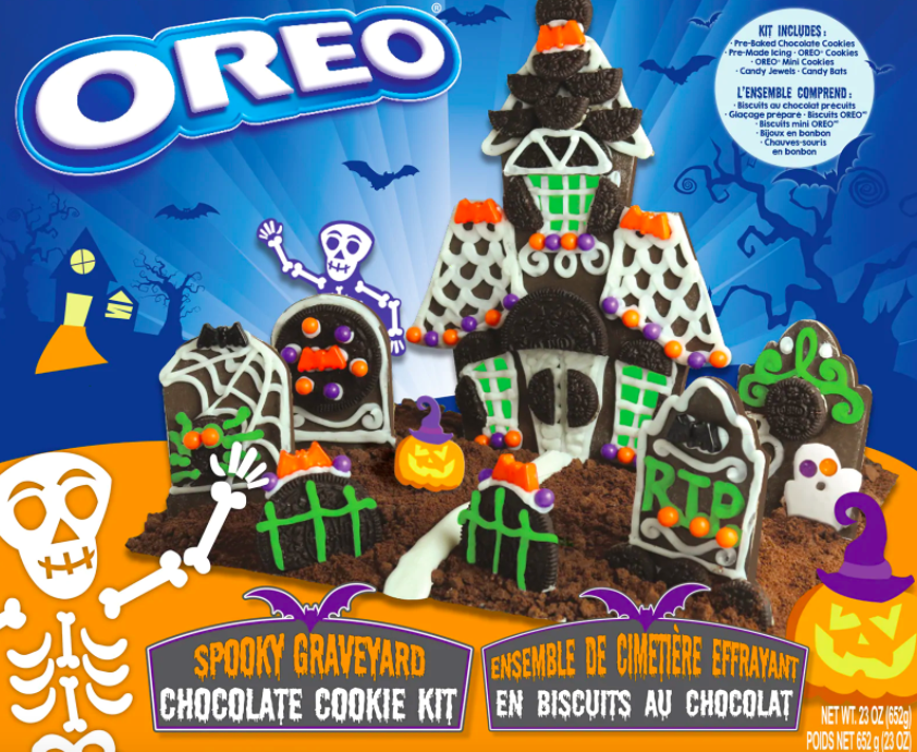 Halloween Cookie Houses Are the New Gingerbread Houses—and You Can Buy Them Right Now --