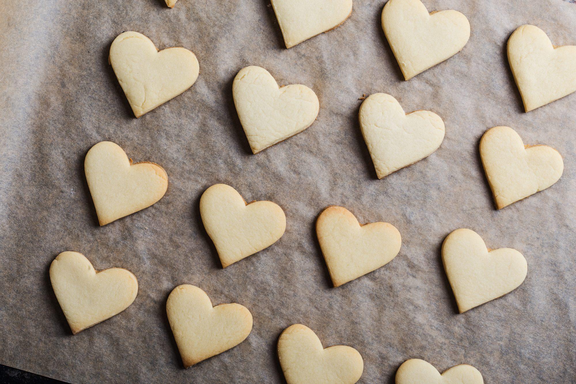 Heart cookies Getty 9/30/20