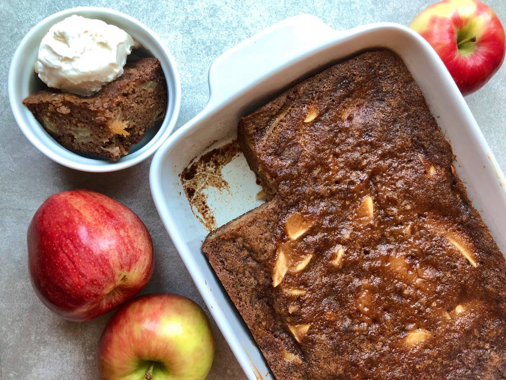 Easy One-Bowl Apple Cake