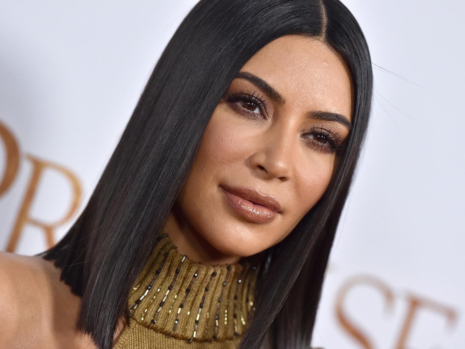 Kim Kardashian breakfast