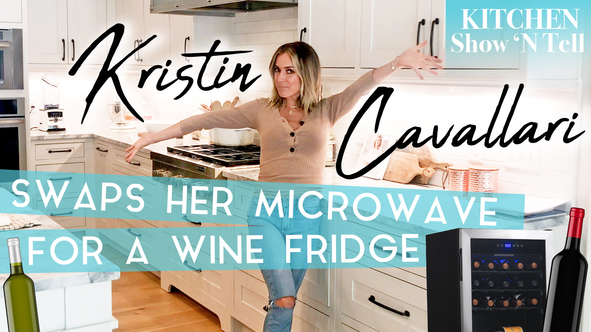 We Got An Exclusive Tour of Kristin Cavallari's Gorgeous Kitchen