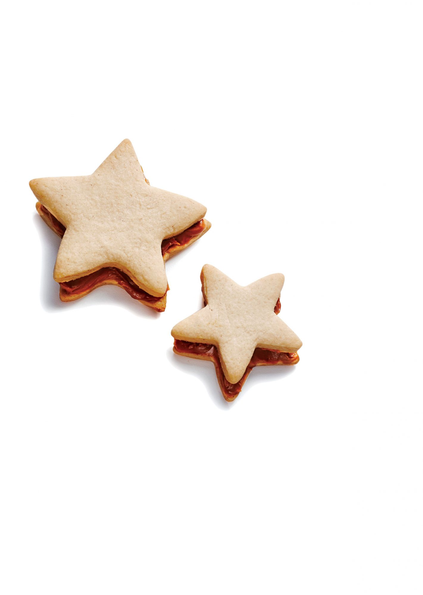 Spiced Stars with Cookie Butter image